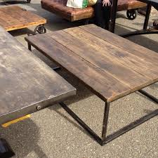 Industrial Style Coffee Table Industrial Style Coffee Table Diy Barn Wood Steel Pipe Rustic