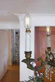 Rewiring An Old Chandelier Easy Chandelier Socket Repair How To Replace The Socket The Art