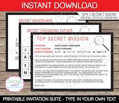 top secret report template invitations template and invitations