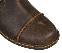 ugg brown distressed leather buckle men u0027s boots size 10 5 ugg