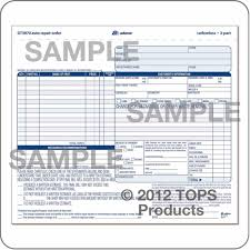 mechanic shop work order template 28 images work order