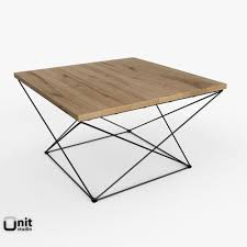 West Elm Coffee Table 3d Angle Base Coffee Table By West Elm Cgtrader