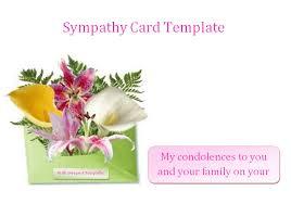 condolences cards sympathy card template peelland fm tk