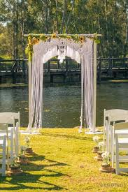 wedding arches gold coast boho beauty macrame arch by kara beautiful weddings gold coast