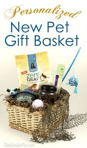 pet gift baskets personalized new pet welcome gift basket the six fix