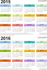 two year calendars for 2015 2016 uk excel and calendar tem myenvoc