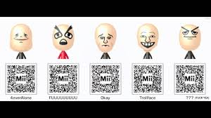 Qr Memes - nintendo 3ds mii qr codes pack 3 memes and more youtube