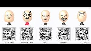 Meme Qr Code - nintendo 3ds mii qr codes pack 3 memes and more youtube