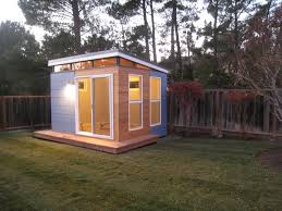 prefab shed kits modern backyard outdoor with tiny house studio