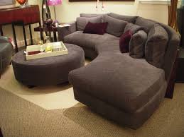 rounded sectional sofa furniture grey fabric sectional couch