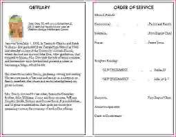 Funeral Program Maker 6 Funeral Programs Examplesagenda Template Sample Agenda