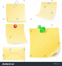 disrupt envelope postit collection vector illustration stock