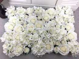 wedding backdrop flower wall luckygoods wholesale design artificial wedding roll up