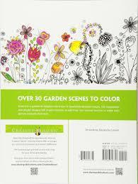amazon com creative haven whimsical gardens coloring book