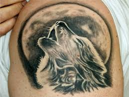 18 howling wolf designs images and photos