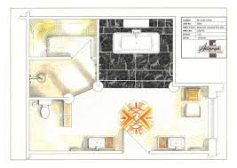art deco floor plans art deco bathroom concept autograph interior design