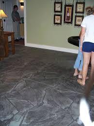 Tile On Concrete Basement Floor by The 25 Best Concrete Basement Floors Ideas On Pinterest