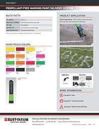 rust oleum 278278 spraysmart propellant free marking system paint