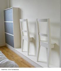 deco mural chambre deco mur chambre avec chaise en bois ikea collee sur le mur