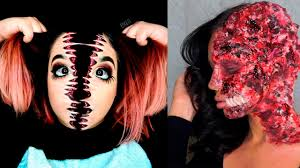 top 25 diy halloween makeup tutorials compilation 2016 youtube