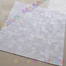 mother of pearl mosaic tiles interior wall panels kitchen
