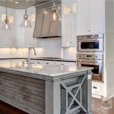 white and gray kitchen ideas white kitchen gray island