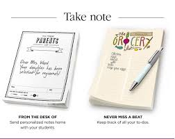 From The Desk Of Notepad Jo Ann Fabric And Craft Store Teachers Just For You A Free