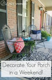 decorate front porch front porch decorating ideas for summer 3 little greenwoods