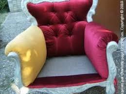 comment retapisser un canapé fauteuil style baroque suite par charlottises