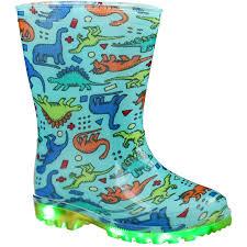 light up rain boots b collection infant boys light up rain boots dinosaur big w