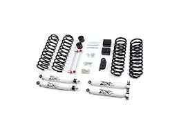lift kit for 2007 jeep wrangler unlimited zone offroad wrangler 3 in lift kit w shocks j12 07 17 wrangler