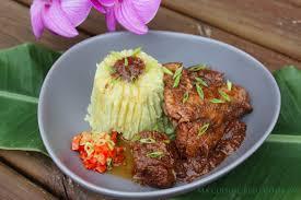 recette cuisine creole reunion civet de pintade à la créole réunion ma cuisine bleu combava