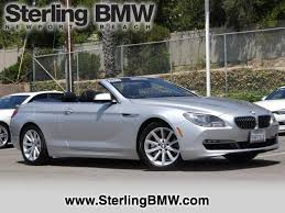 2014 bmw 640i convertible 50 best used bmw 6 series for sale savings from 3 059