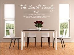 PERSONALISED Family Wall Art  Quote Wall Sticker Decal Modern - Design your own wall art stickers