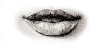 how to draw a mouth like sketch