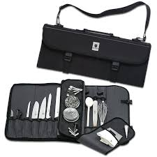 amazon com mercer culinary 17 pocket knife case knife storage