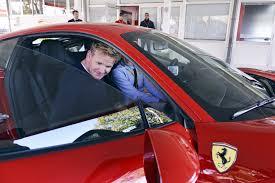 Maranello Italy by Everyone U0027s Favorite Chef Gordon Ramsay Visits Ferrari