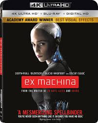 define ex machina ex machina 4k uhd ultra hd blu ray review