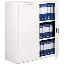 armadio altezza 210 tecnical 2 armadi archivio a porte battenti a 210 bianco