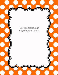 black and orange polka dot halloween background free polka dot border templates in 16 colors