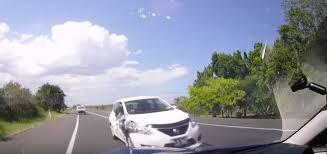 subaru wrx rs420 driver shares dashcam footage of terrifying