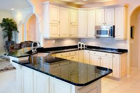 Kitchen Granite Countertops by 36 Inspiring Kitchens With White Cabinets And Dark Granite Pictures