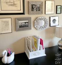 home office diy desk organization accessories to make your lovely