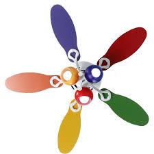 primary color ceiling fan color ceiling fan nursery ceiling fan with custom painted fan blades