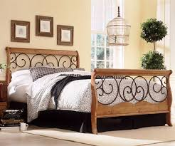 metal bedroom furniture fashion bed group dunhill wood metal bed b91d04