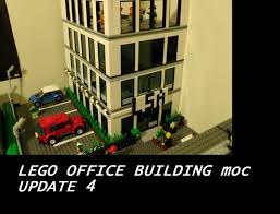 Lego Office Lego Office Building Moc Update 2 Youtube