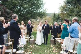Fall Backyard Wedding by West Chester Fall Backyard Wedding Andrea Jeremiah Becka