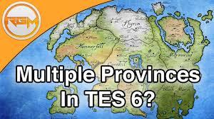 Elder Scrolls World Map by Multiple Provinces In The Elder Scrolls Vi Elder Scrolls 6