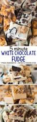 Where Can I Buy White Chocolate Covered Oreos 5 Minute White Chocolate Fudge 3 Ways Crazy For Crust
