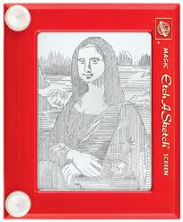 the mona lisa u2026on an etch a sketch u2013 national geographic society